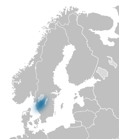 Region SV Västergötland map europe.png