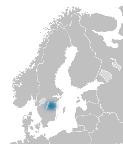 Region SV Östergötland map europe.png